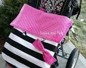 Stroller Sets- stroller blanket, reversible stroller liner, and shoulder strap pads