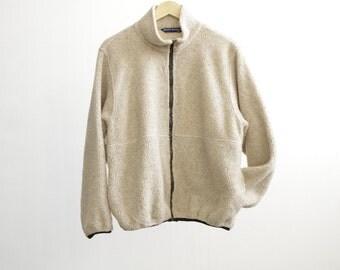 TWIN PEAKS vintage 90s FLEECE coat jacket