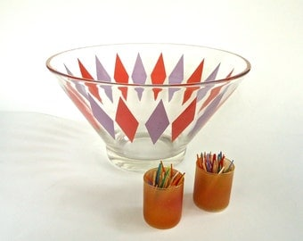 50s Fun and Festive Party Chip Bowl