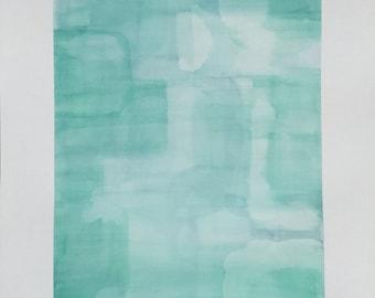 Original Watercolor Painting - Color Study No. 021