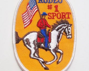 VINTAGE RODEO PATCH