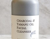 Charcoal and Tamanu Oil Facial Detox Cleanser 2 oz with Activated Charcoal