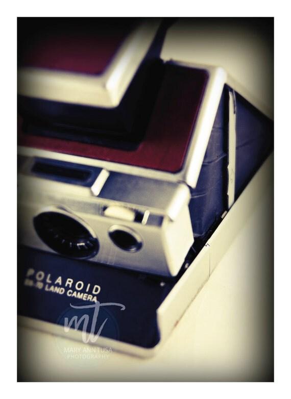 Antique Polaroid Camera, Instant Camera Fine Art Photography