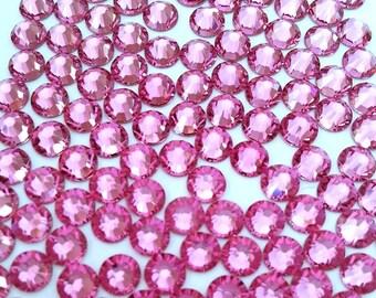 1440 pcs Swarovski 2028 Rose Pink Flatback 10 gross 20ss