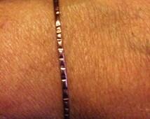 Copper bangles. 2mm bangles. Narrow copper bangles- SINGLE BANGLE