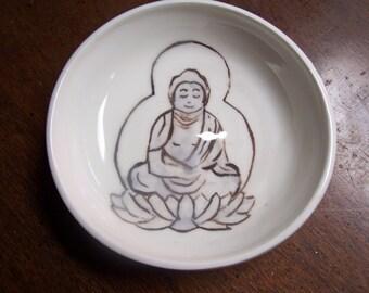 Buddha in a 6 inch bowl