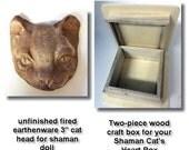 Cat Shaman Starter Kit for Artful Gathering Class