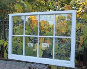 36x26 Vintage Andersen Window sash old 8 pane from 1951