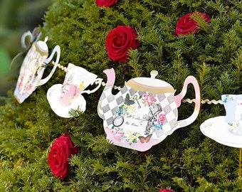 alice in wonderland cupcake stand alice cake stand mad, Garden idea