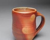 Clay Coffee Mug Beer Stein Wood Fired D13