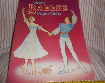 1984 Great Ballet Paper Dolls-Nancy Swanberg