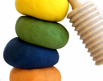 Natural Gluten Free Play Dough, Gluten Free and Nontoxic Playdough, Organic Play Dough