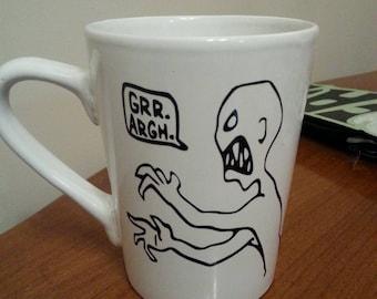 Character Ceramic Coffee Mug