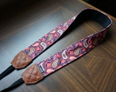 Personalize Camera Strap - Paisley for DSLR and Mirrorless