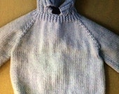 Baby zip down the back sweater