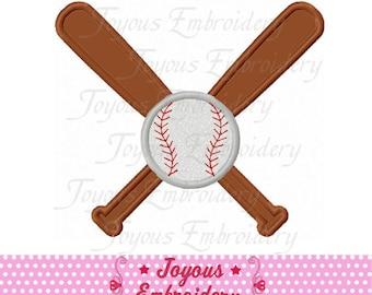 Instant Download Baseball Applique Embroidery Design NO:2115
