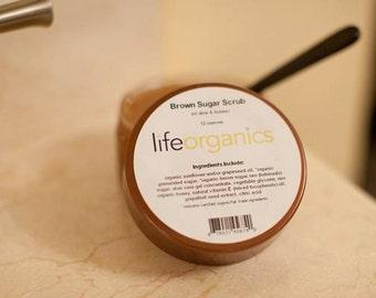 Brown Sugar (Aloe & Honey) Scrub, 10 oz.