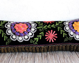 Arial Suzani Pillow Cover