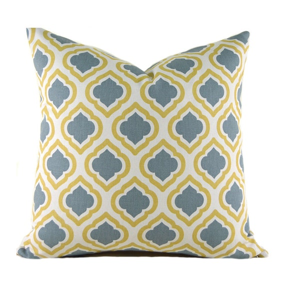 Pillow Covers ANY SIZE Decorative Pillows Yellow Pillows