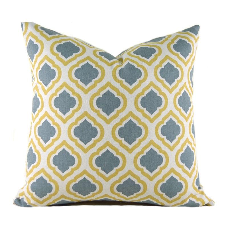 Decorative Pillow Measurements : Pillow Covers ANY SIZE Decorative Pillows Yellow Pillows