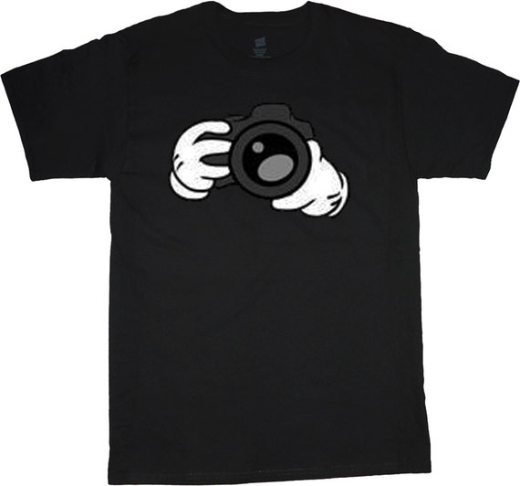 Big and tall tee camera photographer t shirt for Design your own t shirt big and tall