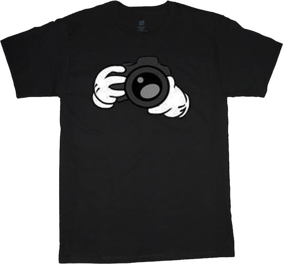 big and tall tee camera photographer t shirt
