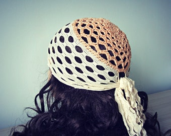 Women crochet beanie