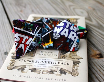 Star Wars Comic Book Style Bow Tie