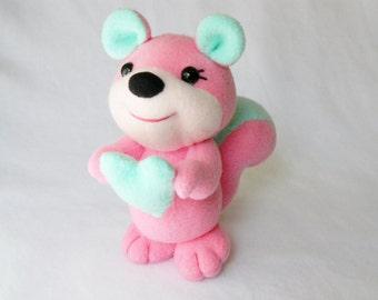Plush squirrel stuffed animal