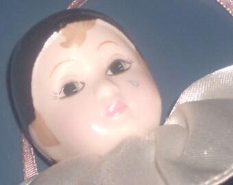 Vintage Peirrot Clown Doll