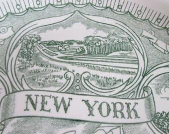 Decorative plate New York