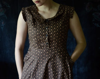 Dress / Sullivan 1934 Dress / Peter Pan Collar Dress / Retro Dress / Cute dresses / Vintage Dress / 1930's Dress / Women's Dresses / Vintage