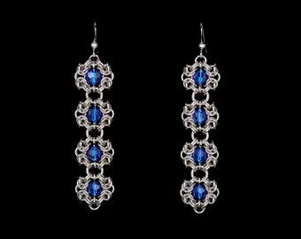 Blue Royal Ricardo Earrings | silverplated