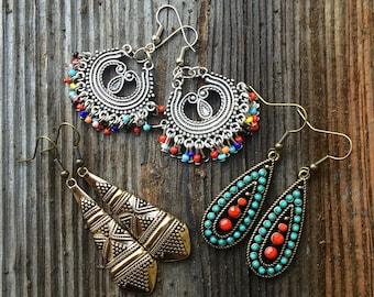 Tribal Style Earrings