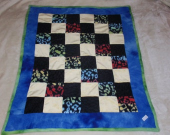 MUSICALLY INCLINED Baby Quilt