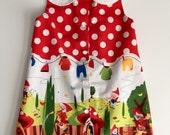 Peter Pan collar Gnomeville dress