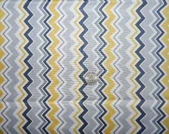 Modern Folkloic Chevron by Makeower  - Fabric By The Half Yard