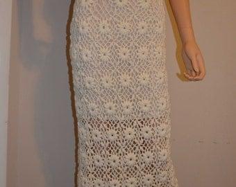 Flower Basket Custom Made Crochet Skirt - Sizes 0 to 20