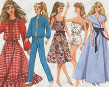 Barbie doll Sewing Pattern: 8333