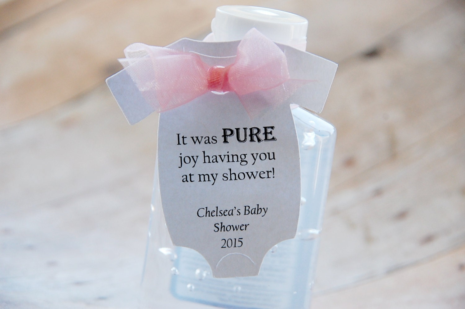 gift tags baby onesie gift tags baby shower hand sanitizer favors