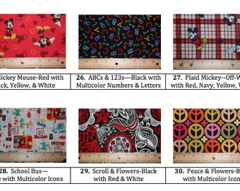 Design Your Own-More Fabric Choices