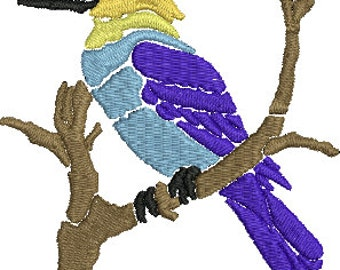 Bird 3 Digitized Machine Embroidery Design