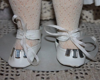 Leather Shoes for Bisque or Composition Dolls