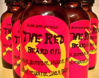 THE RED beard oil 1oz Glass W/Dropper