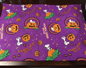 Charlie Brown Great Pumpkin Placemats