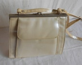 Vintage Vinyl Handbag from the 1960s Groovy Right?