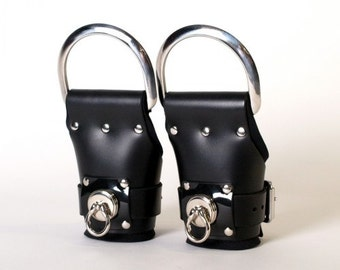 Deluxe Suspension Style Leather Cuffs
