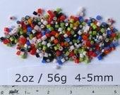 Millefiori 2oz Mixes: Mixed Colours 4-5mm