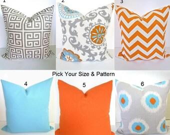 popular items for orange and aqua blue on etsy