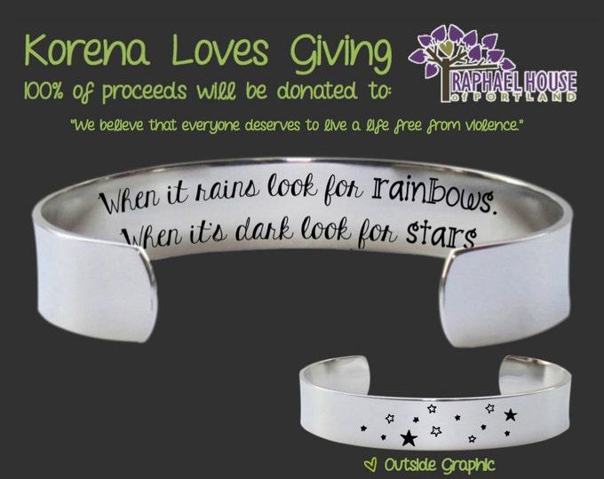 Inspirational Gifts | Encouragement Jewelry | Encouragement Gifts | Inspirational Jewelry | Inspirational Bracelet | Korena Loves Giving